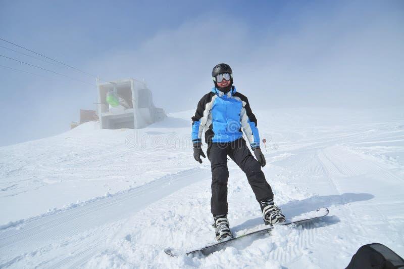 αθλητικός χειμώνας πορτρέ στοκ φωτογραφία με δικαίωμα ελεύθερης χρήσης