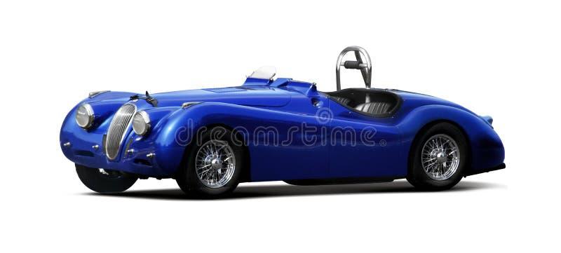 Αθλητικό αυτοκίνητο - ιαγουάρος XK140 στοκ φωτογραφία