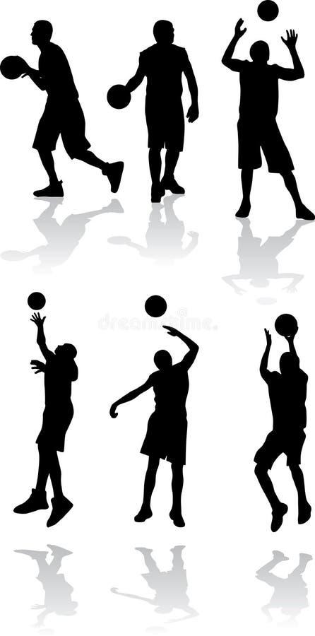 αθλητικό διάνυσμα σκιαγ&rh ελεύθερη απεικόνιση δικαιώματος