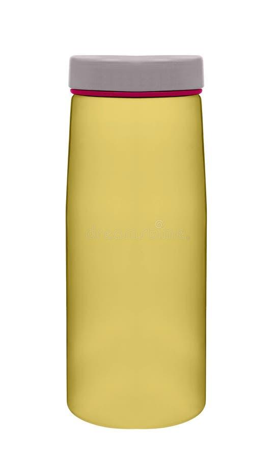 Αθλητικό πλαστικό μπουκάλι νερό στοκ φωτογραφία με δικαίωμα ελεύθερης χρήσης