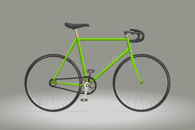 Αθλητικό ποδήλατο ελεύθερη απεικόνιση δικαιώματος