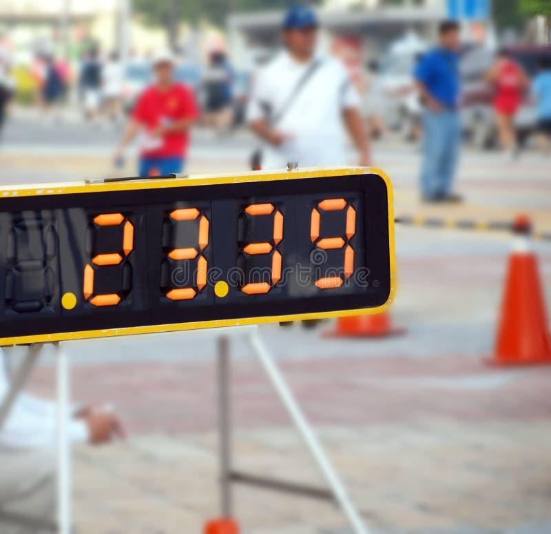 αθλητικό χρονόμετρο γεγ&om στοκ εικόνα