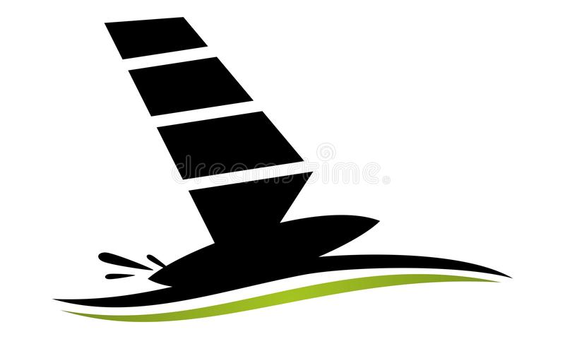 Αθλητισμός γιοτ σκαφών απεικόνιση αποθεμάτων