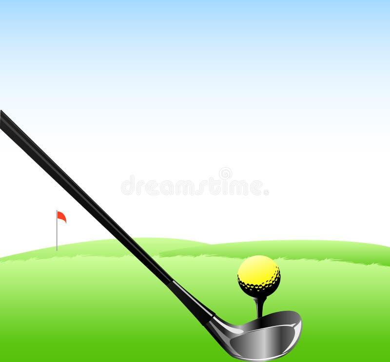 αθλητισμός γκολφ σχεδί&omic ελεύθερη απεικόνιση δικαιώματος