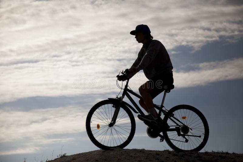 Αθλητισμός και υγιής ζωή ακραίος αθλητισμός στοκ εικόνα