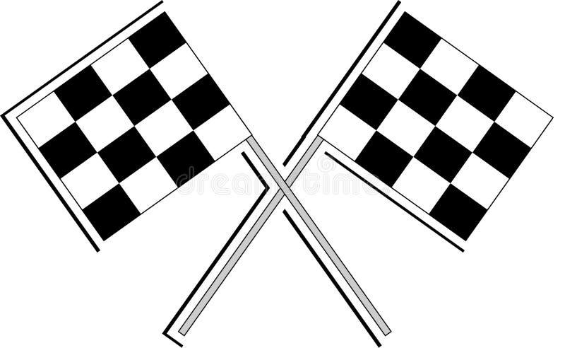 αθλητισμός σημαιών απεικόνιση αποθεμάτων