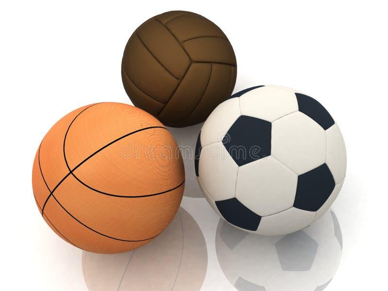 αθλητισμός σφαιρών διανυσματική απεικόνιση