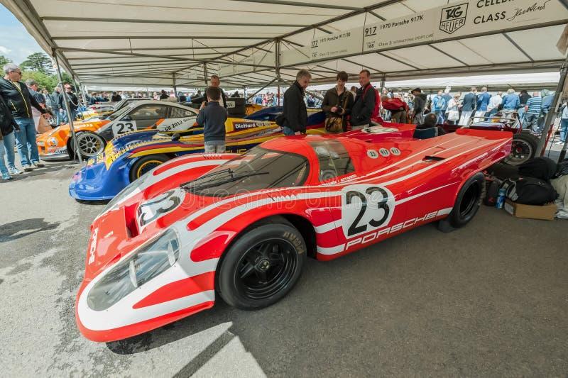 αθλητισμός της Porsche αυτοκινήτων στοκ εικόνες