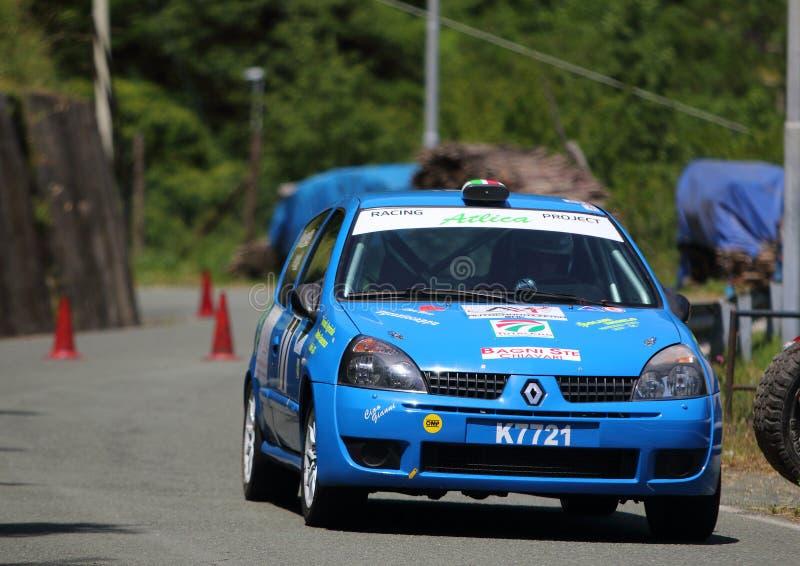 Αθλητισμός του Renault Clio Ουίλιαμς RS στοκ εικόνες