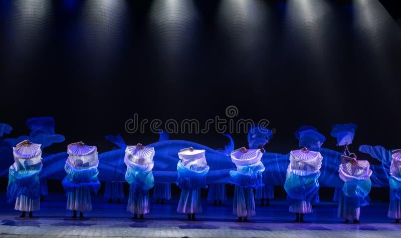 Αθόρυβος χορός ` κύμα-Huang Mingliang ` s κανένα καταφύγιο ` στοκ εικόνα