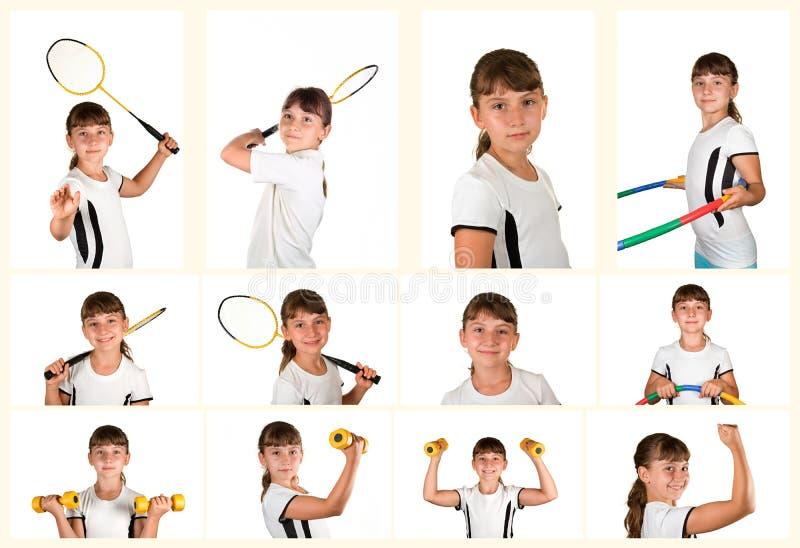 Αθλητής κοριτσιών στοκ εικόνες