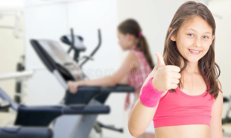 Αθλητής μικρών κοριτσιών στοκ εικόνα με δικαίωμα ελεύθερης χρήσης