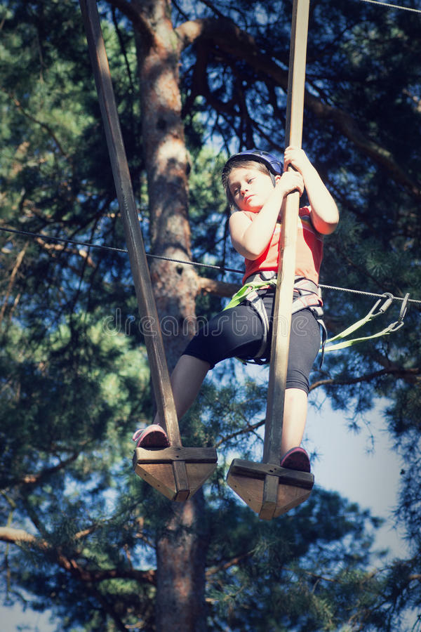 Αθλητής παιδιών στοκ εικόνες