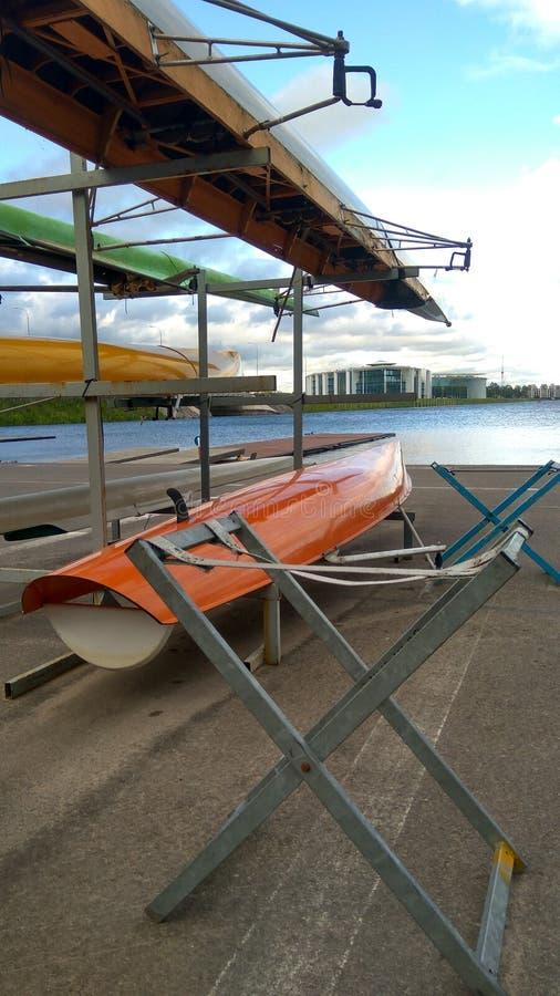 Αθλητικές βάρκες στοκ εικόνα