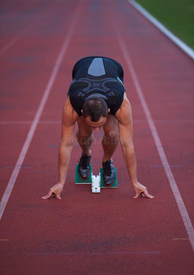 Αθλητική έναρξη ατόμων στοκ εικόνες με δικαίωμα ελεύθερης χρήσης