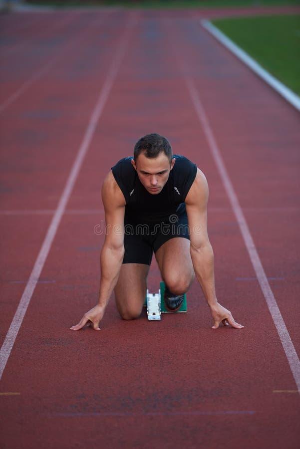 Αθλητική έναρξη ατόμων στοκ φωτογραφίες με δικαίωμα ελεύθερης χρήσης