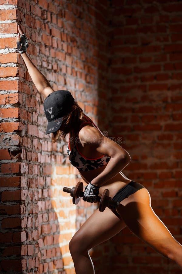 αθλητική προκλητική γυν&alph στοκ φωτογραφίες