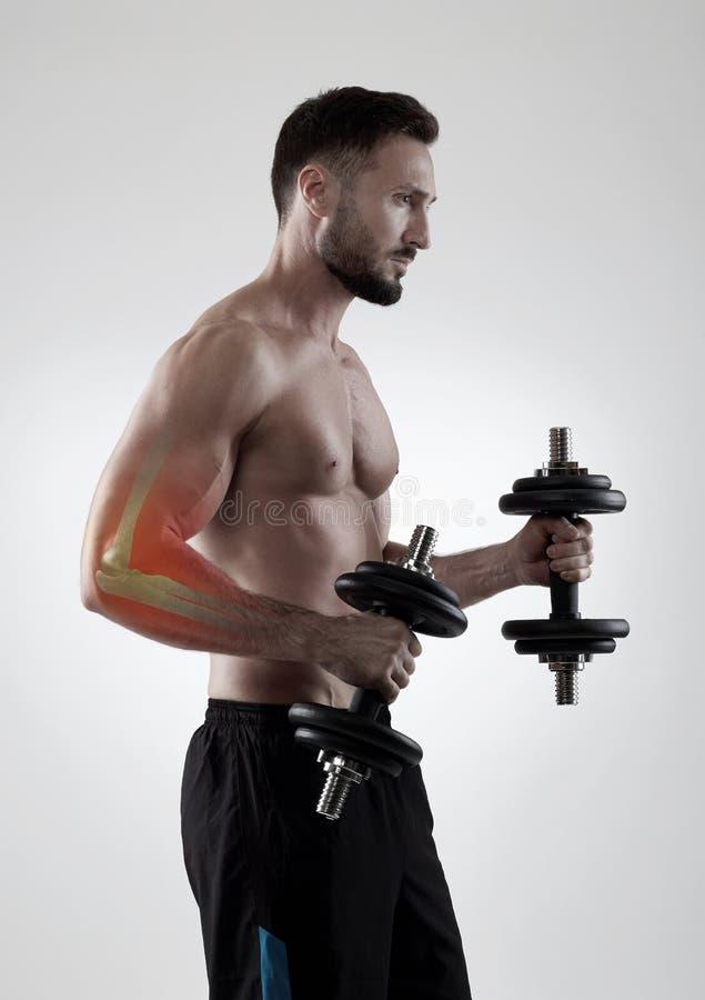Αθλητικός τραυματισμός στοκ φωτογραφία με δικαίωμα ελεύθερης χρήσης