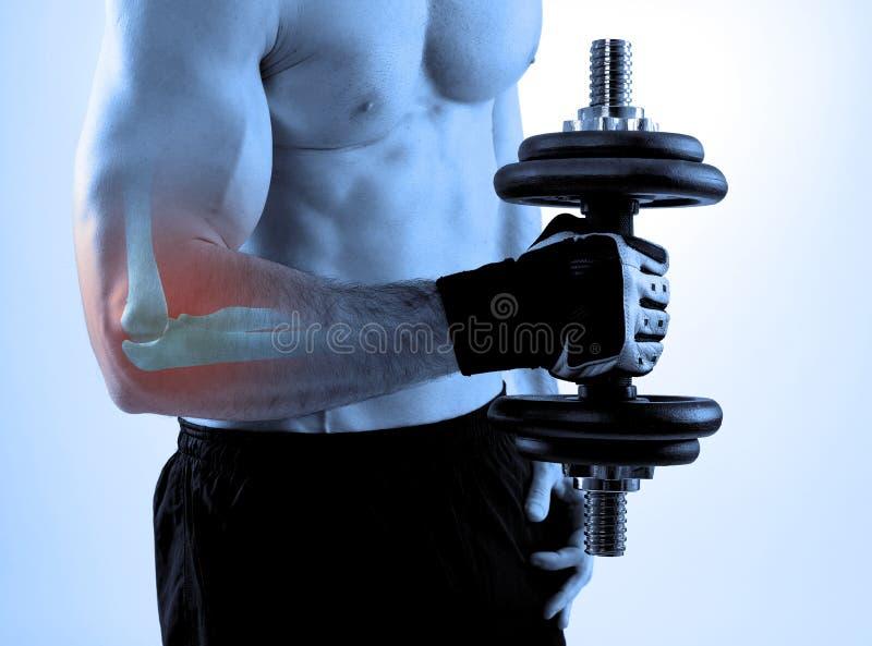 Αθλητικός τραυματισμός στοκ εικόνες με δικαίωμα ελεύθερης χρήσης