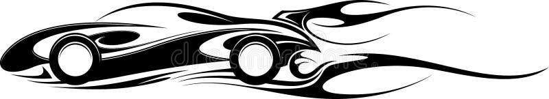 Αθλητικό αυτοκίνητο γραφικό απεικόνιση αποθεμάτων