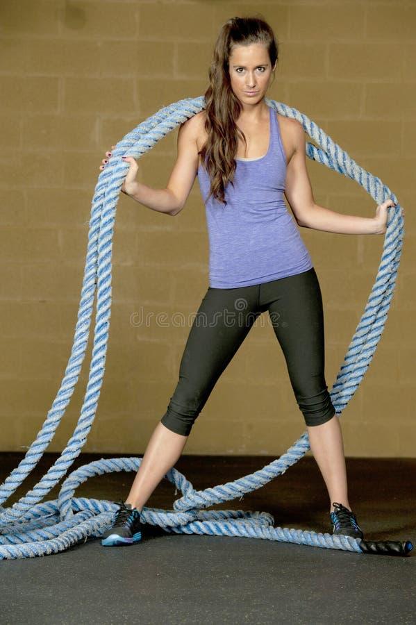 Αθλητικό θηλυκό πρότυπο στοκ φωτογραφία με δικαίωμα ελεύθερης χρήσης