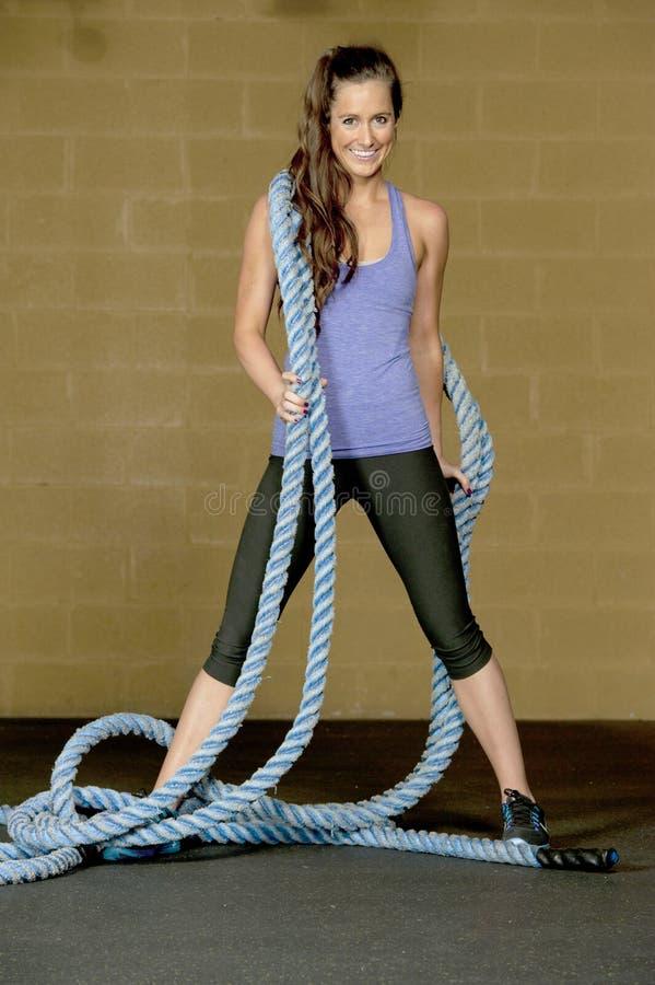 Αθλητικό θηλυκό πρότυπο στοκ εικόνα με δικαίωμα ελεύθερης χρήσης
