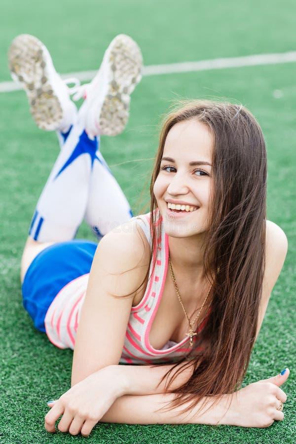 Αθλητικό κορίτσι στοκ φωτογραφία με δικαίωμα ελεύθερης χρήσης