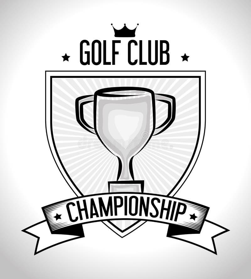 Download Αθλητικό παιχνίδι γκολφ κλαμπ γραφικό Απεικόνιση αποθεμάτων - εικονογραφία από κορώνα, αθλητικός: 62702582