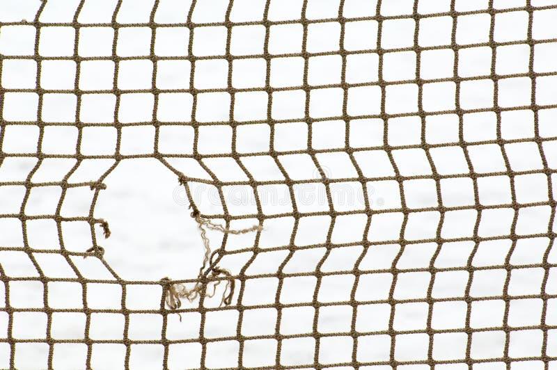 Αθλητισμός καθαρός με την τρύπα στοκ φωτογραφία