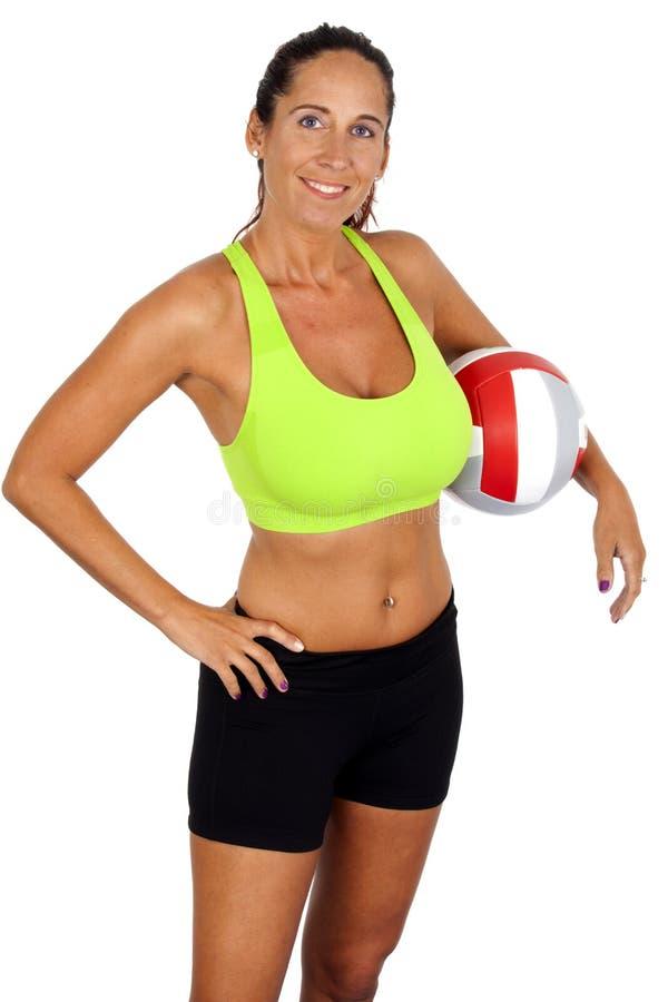 Αθλητισμός: Πετοσφαίριση στοκ εικόνες με δικαίωμα ελεύθερης χρήσης