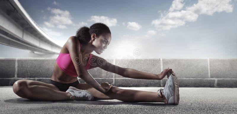 αθλητισμός δρομέας στοκ εικόνες
