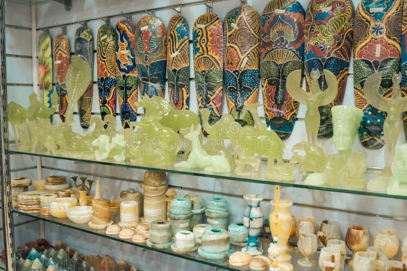 Αιγυπτιακά αγαλματίδια και αγαλματίδια στοκ εικόνες με δικαίωμα ελεύθερης χρήσης