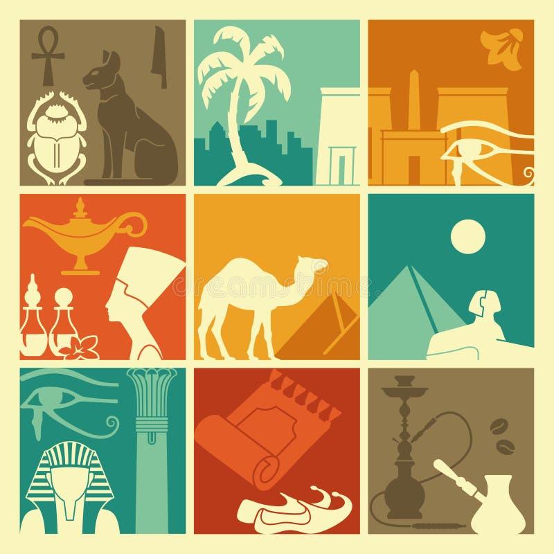 αιγυπτιακά σύμβολα απεικόνιση αποθεμάτων