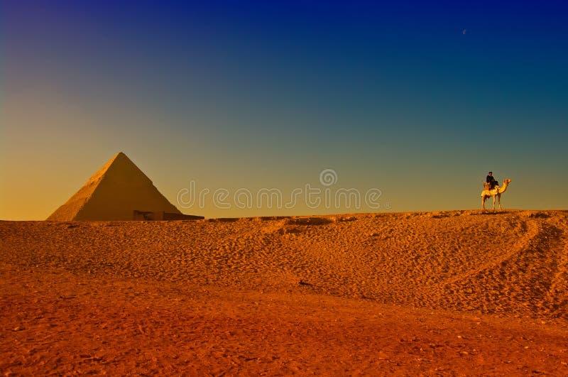 αιγυπτιακές μεγάλες πυ&r στοκ φωτογραφία