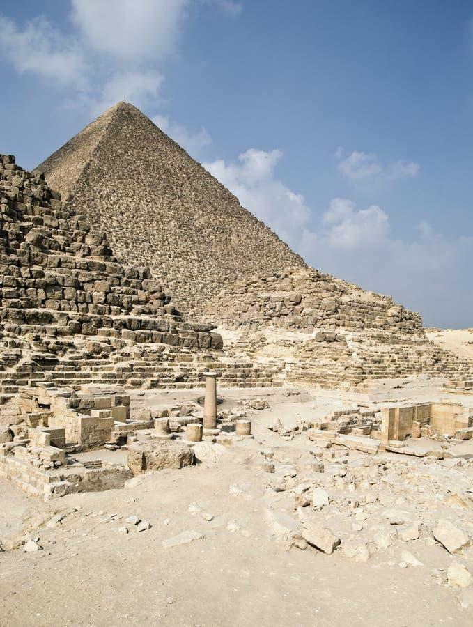 αιγυπτιακές πυραμίδες giza στοκ εικόνες