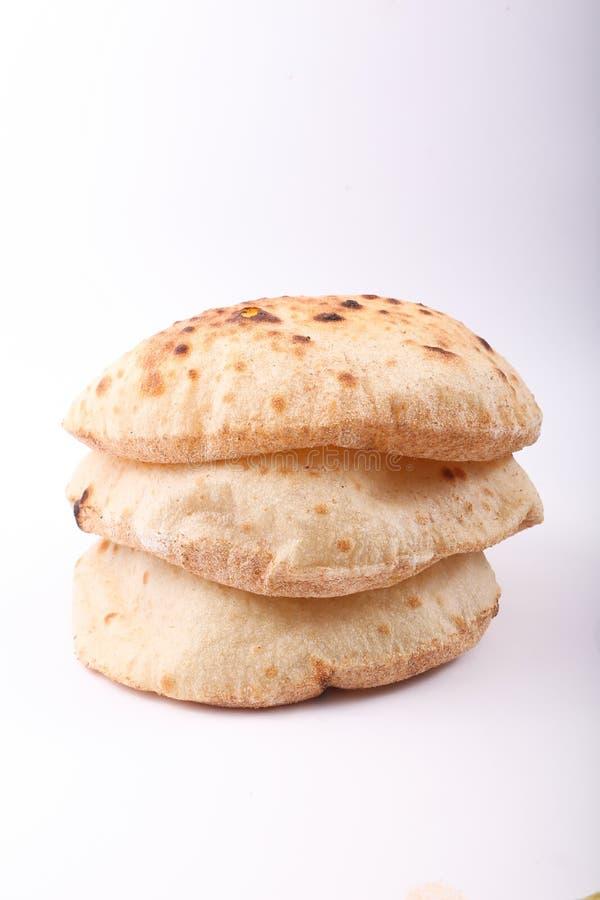 Αιγυπτιακές φραντζόλες ψωμιού στοκ εικόνα