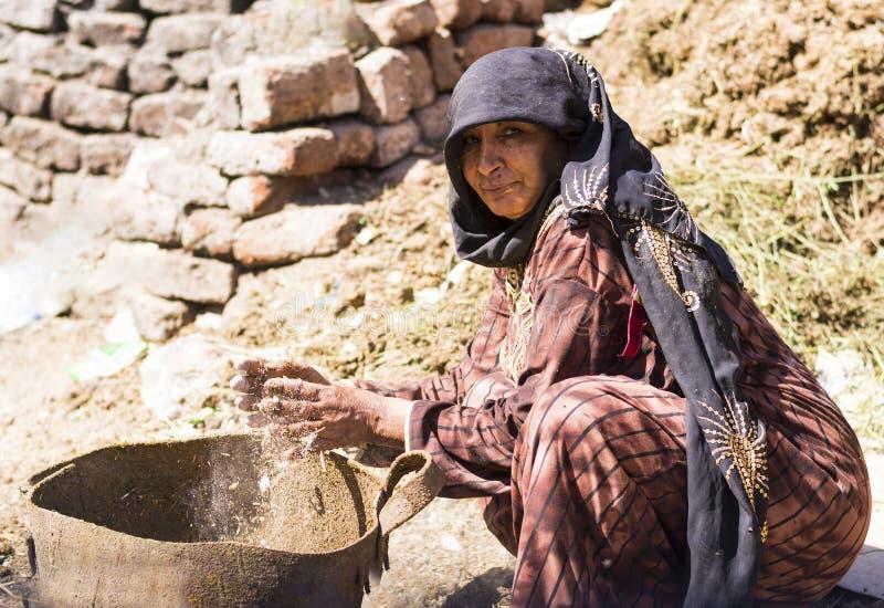 Αιγυπτιακή εργασία γυναικών στοκ φωτογραφίες με δικαίωμα ελεύθερης χρήσης