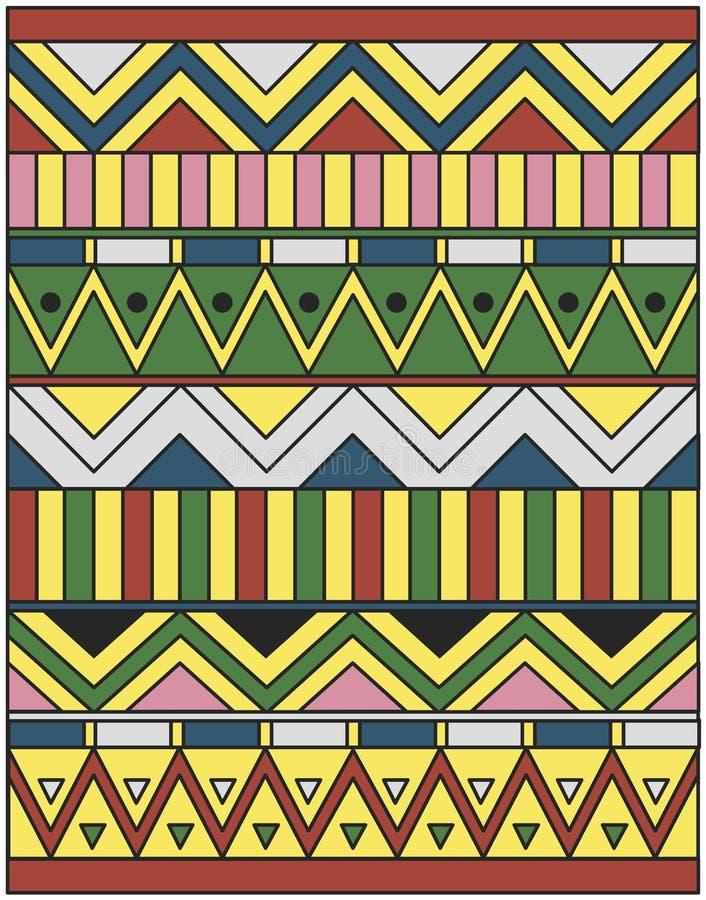 αιγυπτιακή διακόσμηση απεικόνιση αποθεμάτων