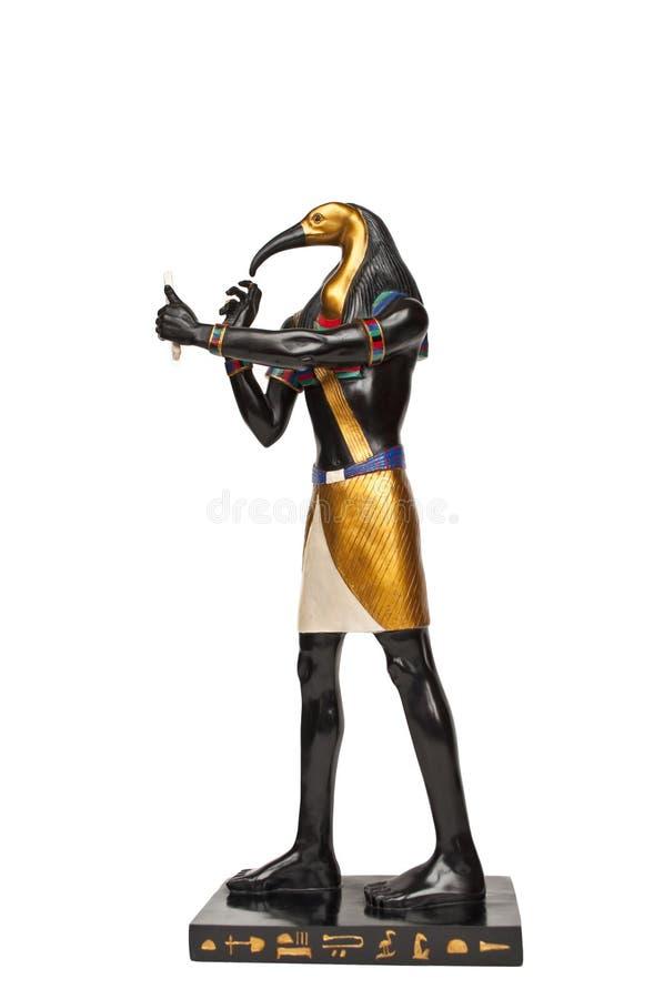 Αιγυπτιακός αριθμός Θεών - θρεσκιόρνιθα στοκ φωτογραφίες