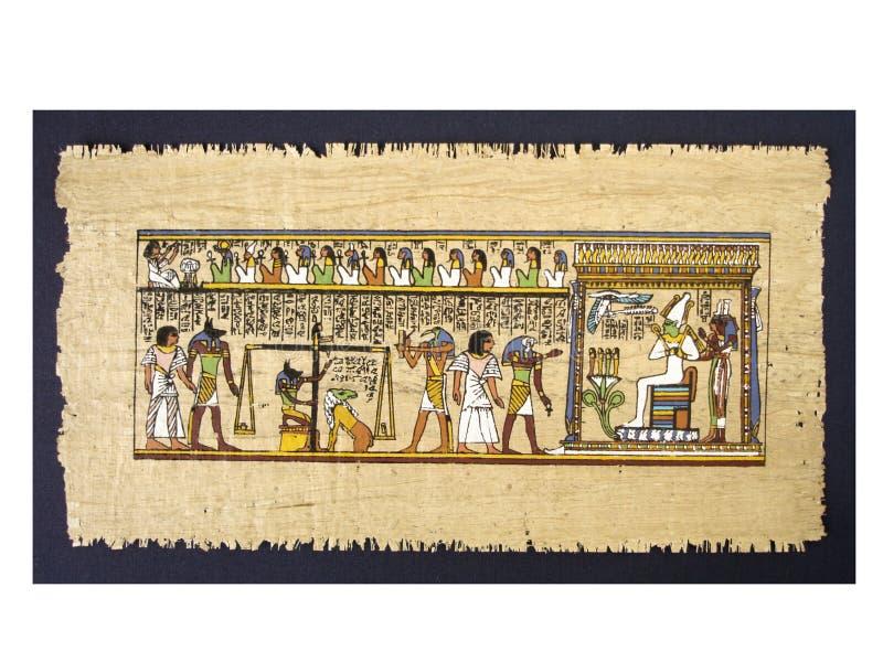 αιγυπτιακός πάπυρος στοκ εικόνες