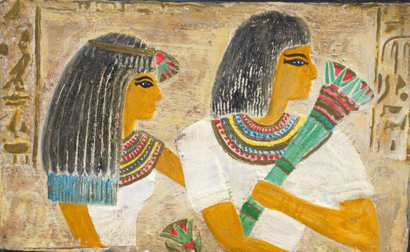 Αιγυπτιακό ζεύγος στοκ φωτογραφία με δικαίωμα ελεύθερης χρήσης