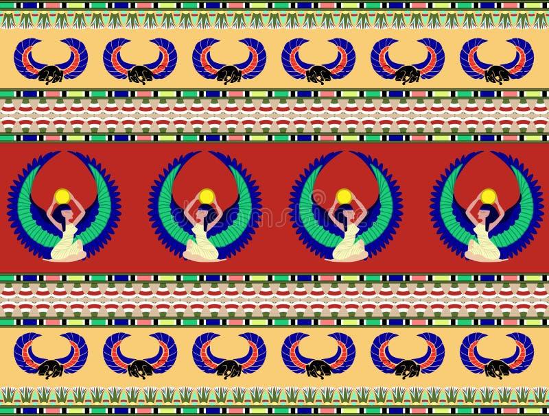 Αιγυπτιακό μοτίβο απεικόνιση αποθεμάτων