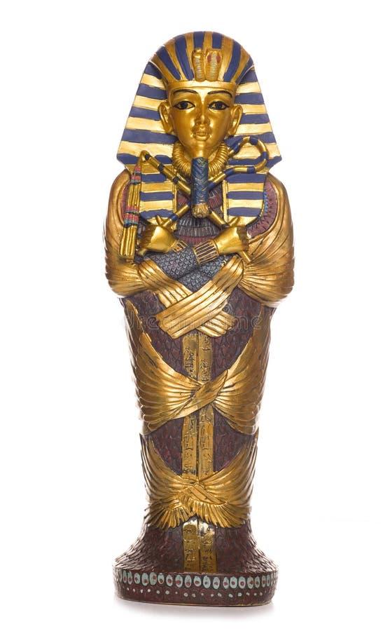 Αιγυπτιακό φέρετρο μουμιών στοκ εικόνα με δικαίωμα ελεύθερης χρήσης