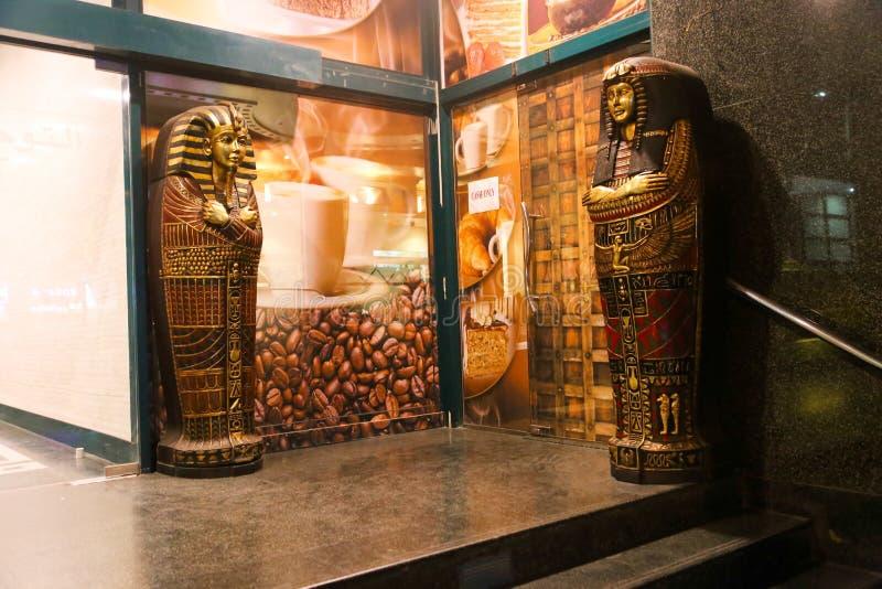 Αιγυπτιακό φέρετρο Tut βασιλιάδων στοκ φωτογραφία με δικαίωμα ελεύθερης χρήσης