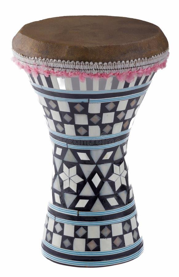 Αιγυπτιακό darbuka στοκ εικόνα με δικαίωμα ελεύθερης χρήσης