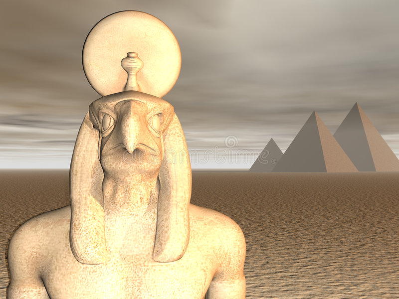 αιγυπτιακό horus Θεών ελεύθερη απεικόνιση δικαιώματος