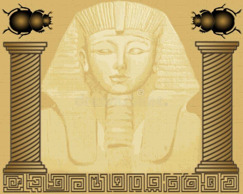 αιγυπτιακό pharaoh διανυσματική απεικόνιση