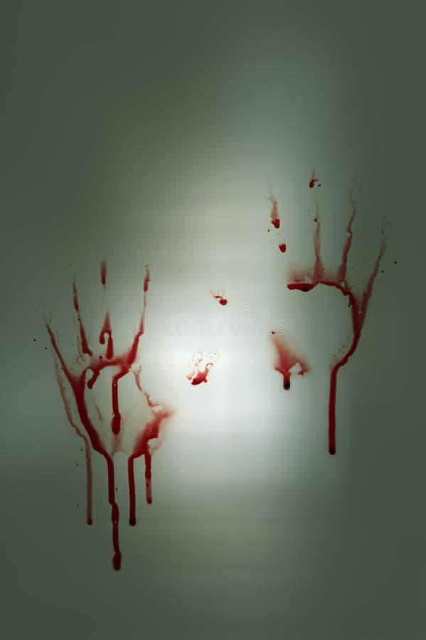 αιματηρά χέρια στοκ φωτογραφίες