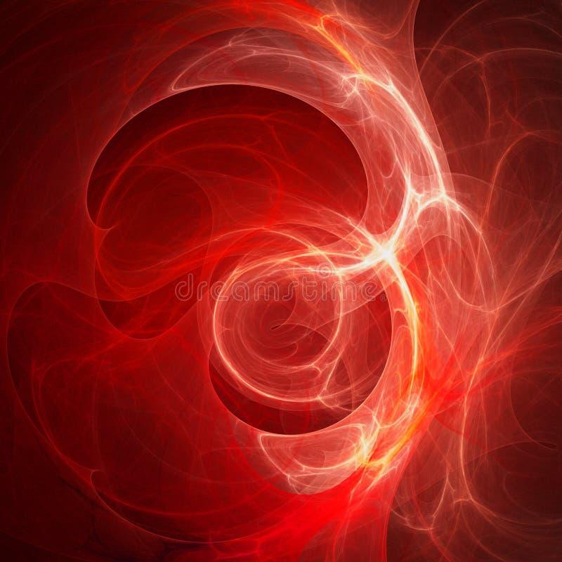 αιματηρό φως διανυσματική απεικόνιση