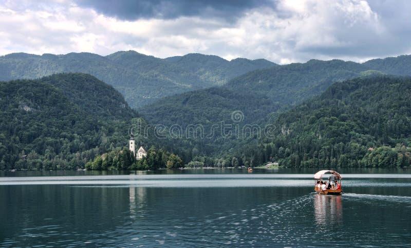 αιμορραγημένη λίμνη στοκ εικόνα με δικαίωμα ελεύθερης χρήσης